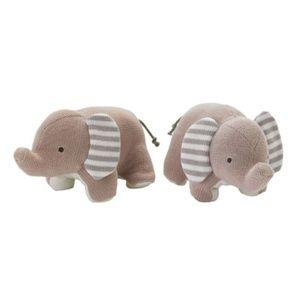 Lolli Living Plush Elephant Bookends